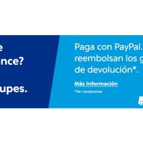 Paga con Paypal y compra sin riesgos en nuestra tiendaonline